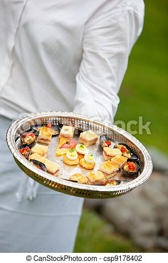 catering appetizer - csp9178402