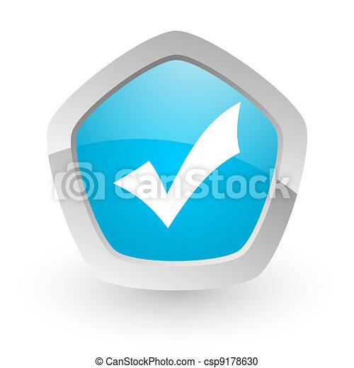 accept icon - csp9178630