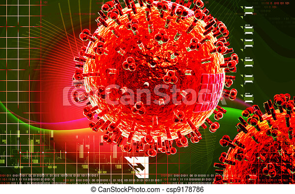 Avian Virus   - csp9178786