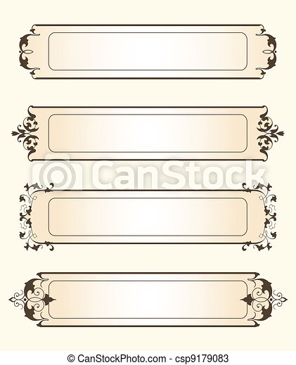 Fancy Tags - csp9179083