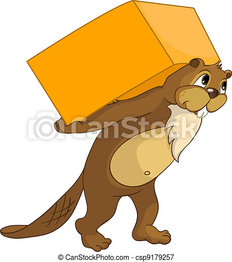 """Beaver CREES. Look for Funny Beaver by Keyword """"CREES"""". - csp9179257"""