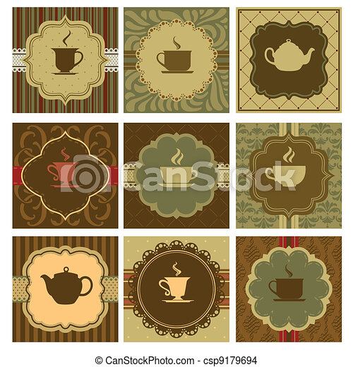Coffee design - csp9179694