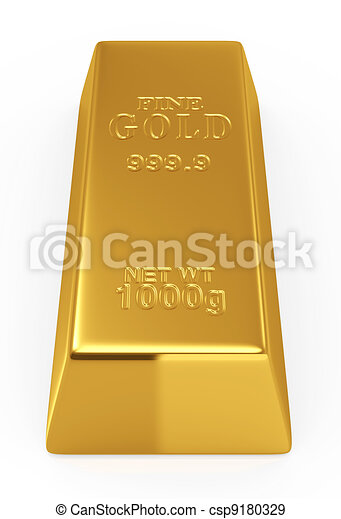 Gold bar - csp9180329