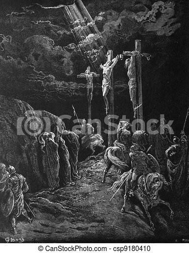 The death of Jesus - csp9180410