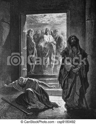 Bible Clip Art of Pharisees