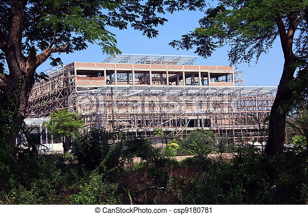 Buildings are built  - csp9180781