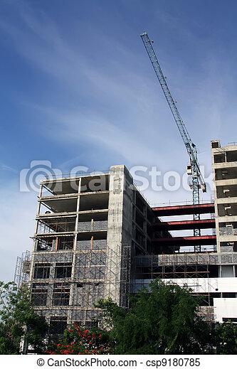 Buildings are built  - csp9180785