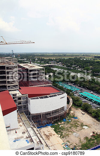 Buildings are built  - csp9180789
