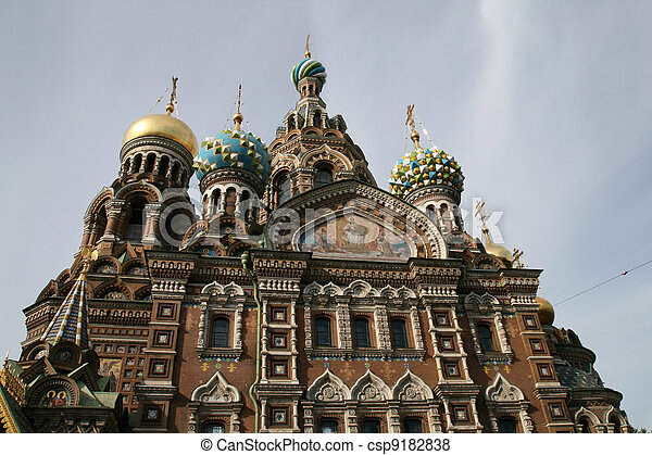 Church of Savior on Spilled Blood - csp9182838