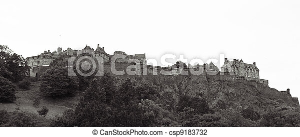 Edinburgh Castle - csp9183732