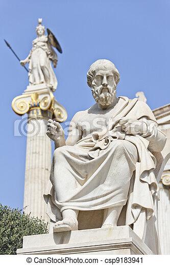 The ancient Greek philosopher Socrates - csp9183941