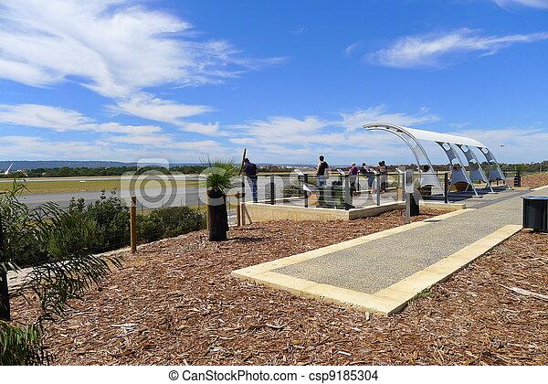 Perth Airport Viewing Platform - csp9185304