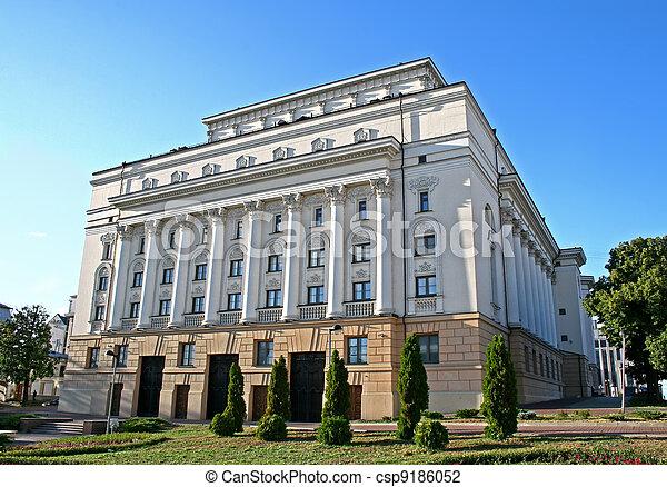 Tatar academic theater of drama - csp9186052