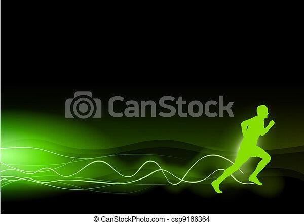 green runner - csp9186364