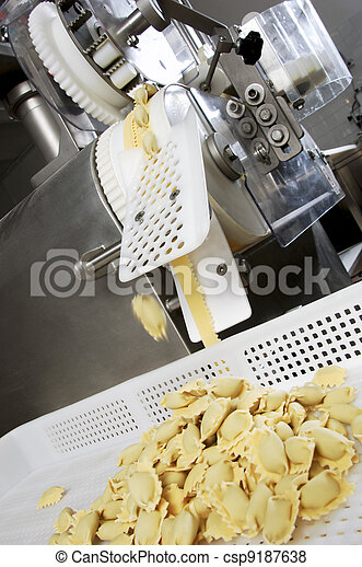 The fresh pasta industry - csp9187638
