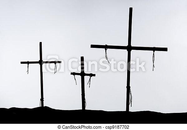 The Crucifixion - csp9187702