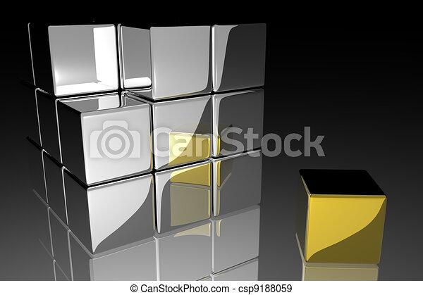 Individuality concept - csp9188059