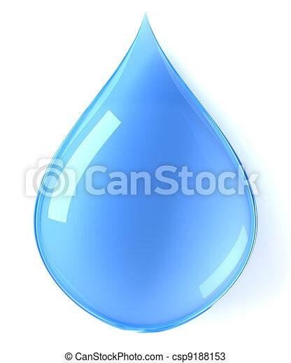 Water drop - csp9188153