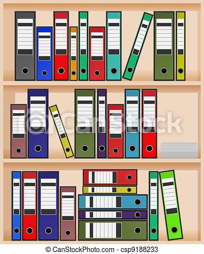 office shelf - csp9188233
