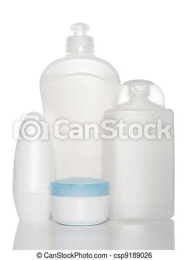 健康, 白色, 瓶子, 產品, 美麗 - csp... 白色, 瓶子, ......的, 健康,