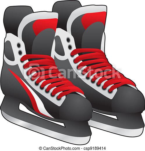 vecteur eps de glace  patins  paire paire  glace  patins states clip art images states clip art black and white