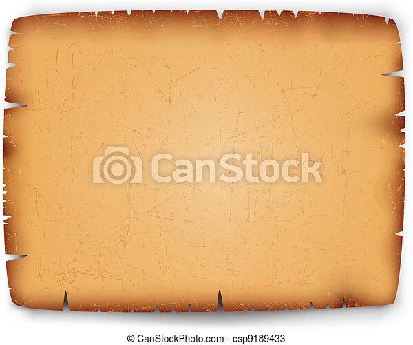 Old paper texture - csp9189433