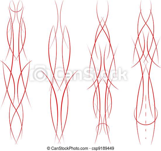 Pinstripe Set - csp9189449
