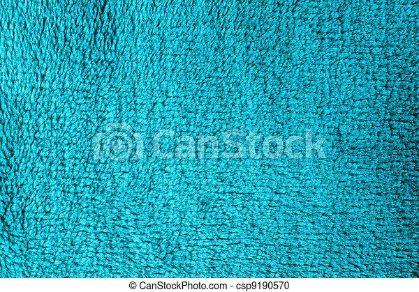 Azure fleece texture for background - csp9190570