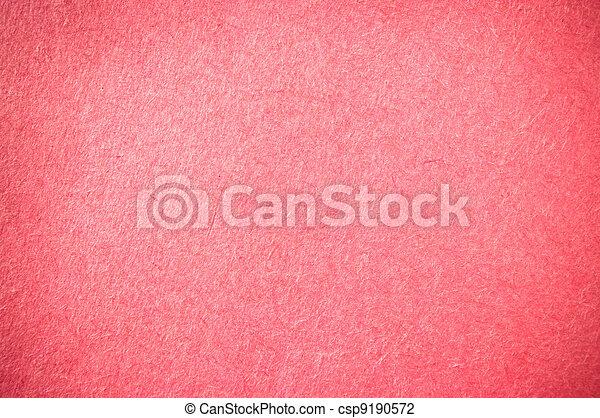 Bright red paper texture - csp9190572