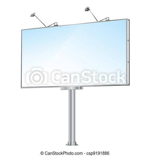 Grand outdoor billboard - csp9191886