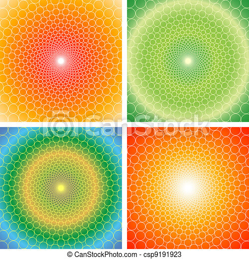 cyclic optical illusion-Vector EPS - csp9191923