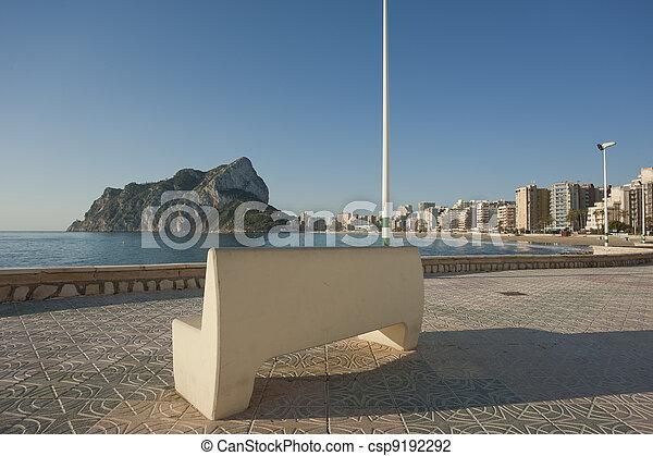 Calpe promenade - csp9192292