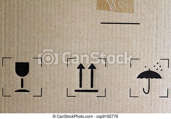Freight symbols - csp9192776