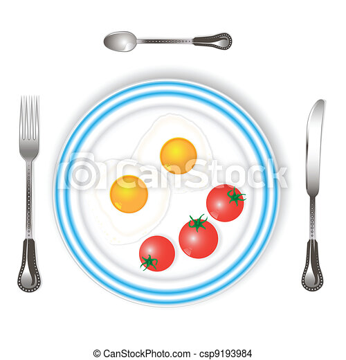 scrambled eggs - csp9193984