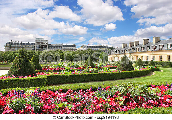 City park. Paris, France. - csp9194198