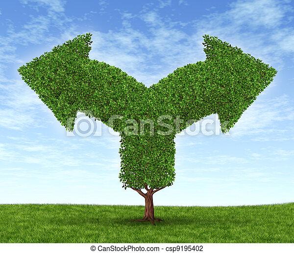 Growing Business Dilemma - csp9195402