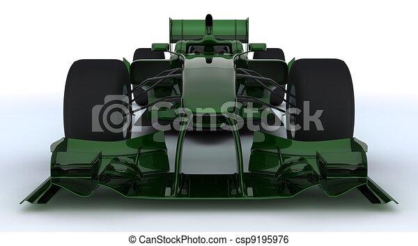 Generic open wheeled racing car - csp9195976