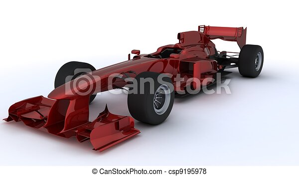 Formula one car - csp9195978
