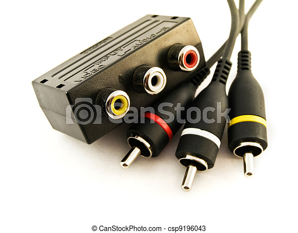 Audio Visual Leads and Connector - csp9196043