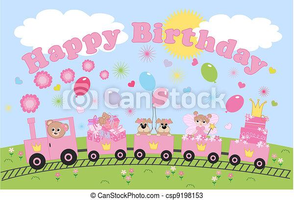 happy birthday - csp9198153