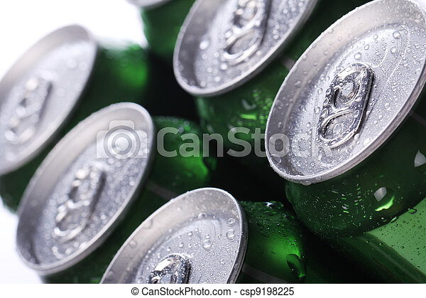 Cans with cold drink - csp9198225