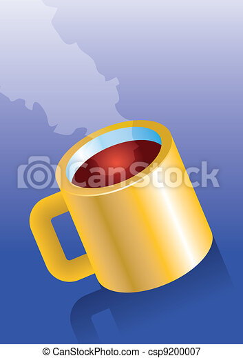A cup of coffee - csp9200007