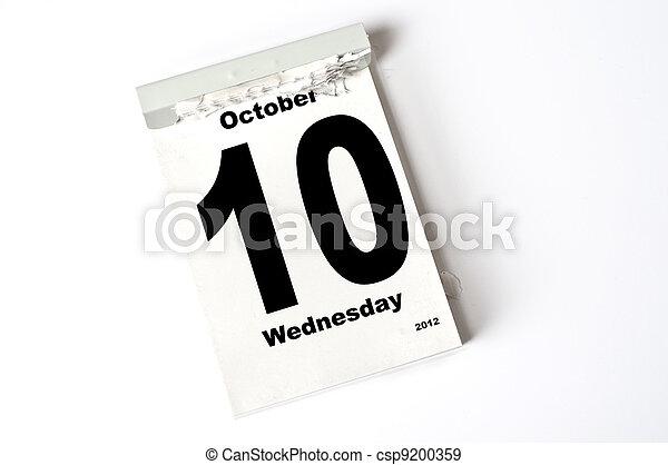 10. October 2012 - csp9200359