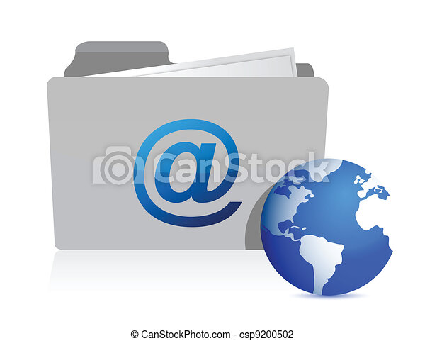 email folder and communication - csp9200502