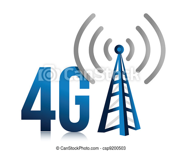 4G speed tower connection  - csp9200503