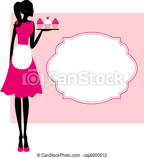 royalty free illustrations, stock clip art icon, stock clipart icons ...: www.canstockphoto.com/cupcakes-frame-9200512.html