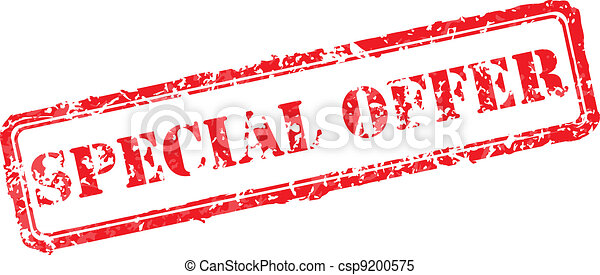 Special offer rubber stamp - csp9200575