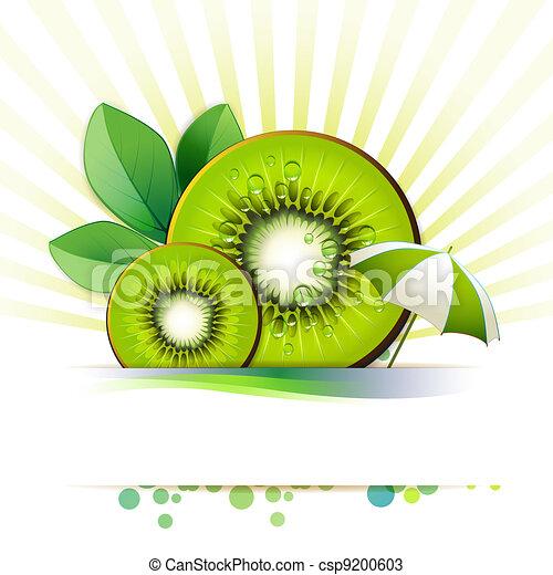 Slices kiwi - csp9200603