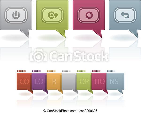 Phone Icons Status - csp9200696
