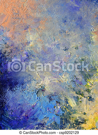 abstract painted background - csp9202129